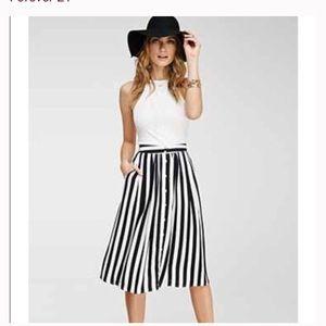 NWT S Forever 21 Striped Skirt
